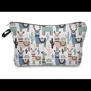 Handbags - 🌵Cactus Llamas🌵Makeup Bag Pouch Cosmetic llama
